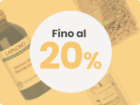 Outlet fino 20%