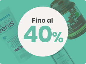 Outlet fino 40%