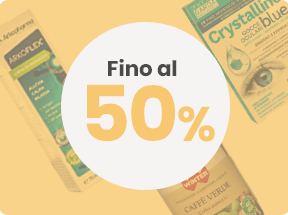 Outlet fino 50%